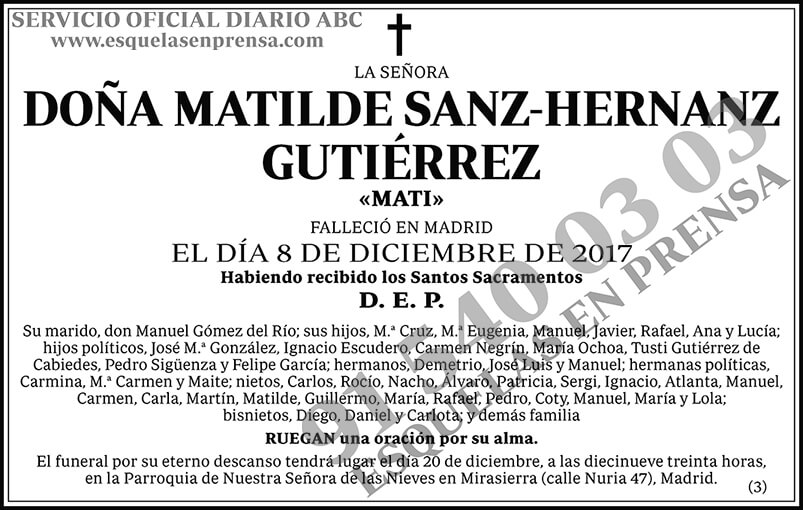 Matilde Sanz-Hernanz Gutiérrez